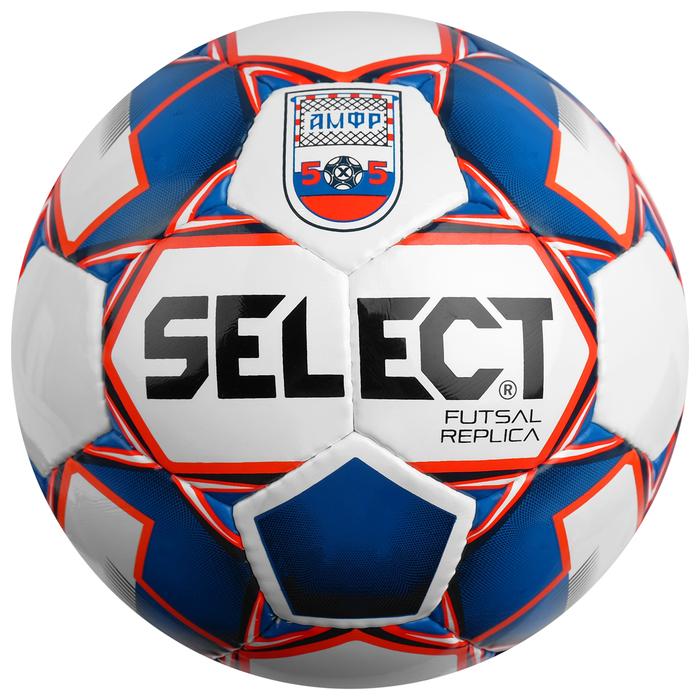 Мяч футзальный SELECT Futsal Replica, 850617-172, размер 4, PU, сшивка