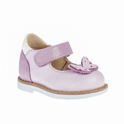 Туфли детские арт. 25010, цвет сиреневый, размер 18