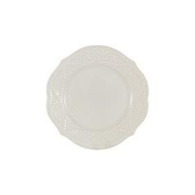 Тарелка закусочная Villa, 22 см, белая