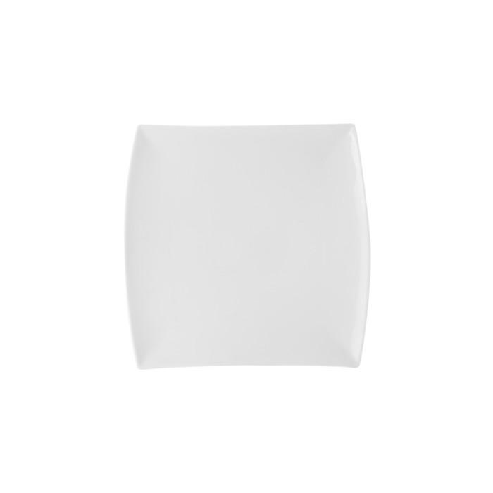 Тарелка квадратная «Восток-Запад», 18 см
