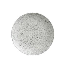Тарелка обеденная «Икра», 27.5 см, пепел