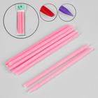Пластиковые палочки для маникюра, 10см, 10шт