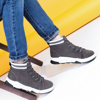 Угги-ботинки женские 905 MINAKU серый р. 38