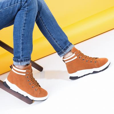 Угги-ботинки женские 905 MINAKU рыжий р. 38