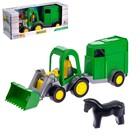 Трактор-багги с ковшом и прицепом 39349