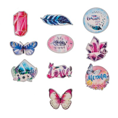 "Set of stickers ""Dream"", 7 × 7 cm"