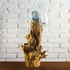 """Вазон стекло на дереве """"Талисман"""" 75х25х25 см"""