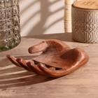 """Souvenir wood """"Holder hand"""" 20х12х7 cm"""