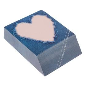Блок бумаги для записей 9 х 11 см, 300 листов, «Строчка», проклеенный, 70 г/м2