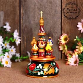 "Souvenir music ""Temple"", 17h10 cm, Khokhloma"