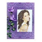 """Photo frame """"Roses on lace"""" 9h13 cm"""