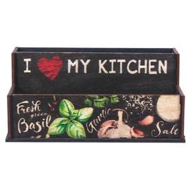 """Органайзер для кухонных мелочей """"Приправы"""", 16 см × 9,8 см × 7,3 см - фото 1591634"""