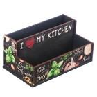 """Органайзер для кухонных мелочей """"Приправы"""", 16 см × 9,8 см × 7,3 см - фото 1591633"""