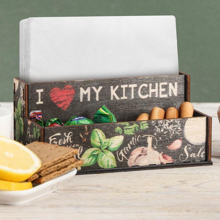"""Органайзер для кухонных мелочей """"Приправы"""", 16 см × 9,8 см × 7,3 см - фото 1591632"""