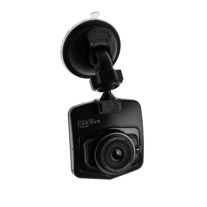 Видеорегистратор TORSO Premium, разрешение HD 1920x1080P, TFT 2.4, угол обзора 140°, черный