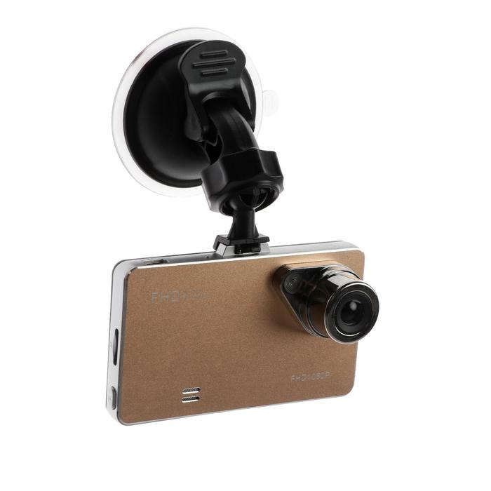 Видеорегистратор TORSO Premium, разрешение HD 1920x1080P, TFT 2.7, угол обзора 90°