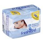 Влажные салфетки Freshland, для детей, «Джамбо», 3 упаковки по 60 шт.
