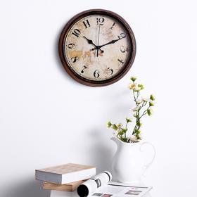 """Часы настенные, серия: Интерьер, """"Винтаж"""", d=35 см"""