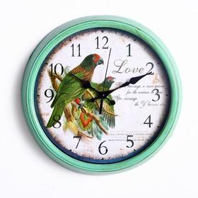 """Часы настенные, серия: Животный мир, """"Кавалла"""", d=33 см"""