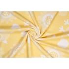 Одеяло байковое Nuvola, размер 100х140 см, желтый