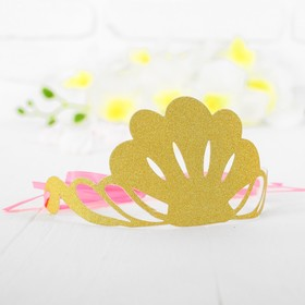 Корона «Великолепие», цвет золотой в Донецке