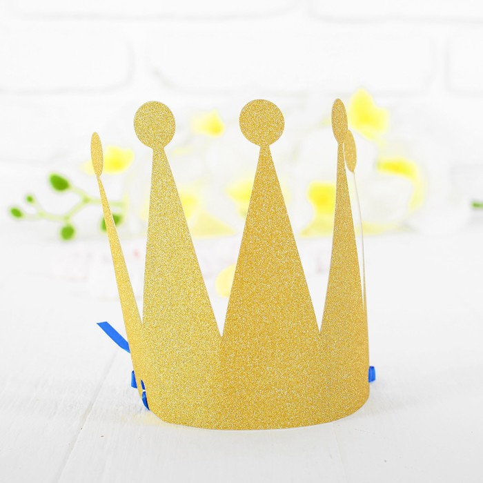 Корона «Царевна», цвет золотой