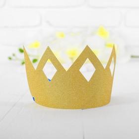 Корона «Узор», цвет золотой в Донецке