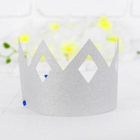 Корона «Узор», цвет серебряный в Донецке