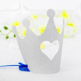 Корона «Королева», цвет серебряный в Донецке