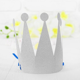 Корона «Царевна», цвет серебряный в Донецке