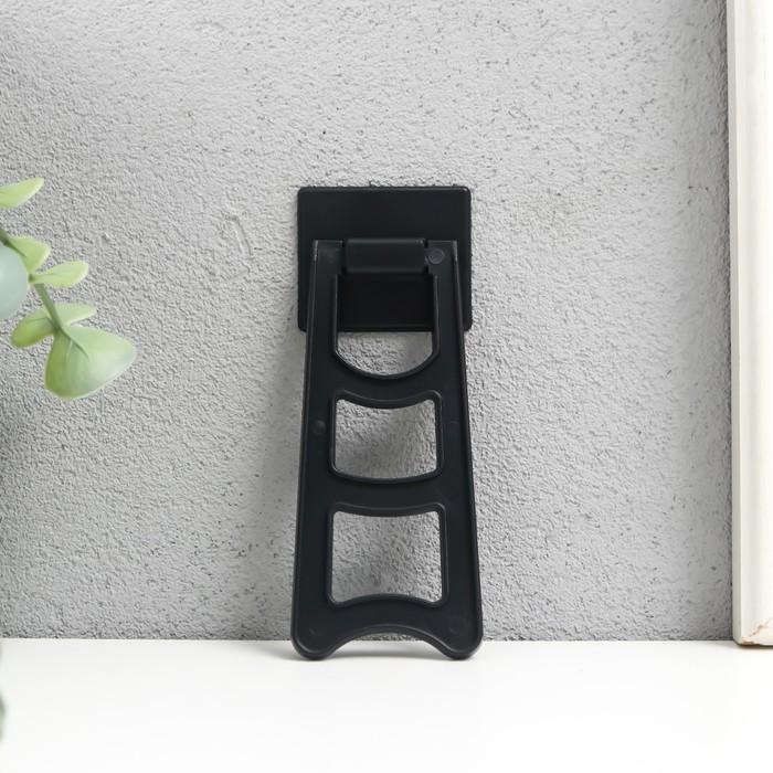 Подставка пластик для фоторамки широкая 11,7х4,6х0,8 см