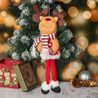 """Soft toy """"Reindeer with ornaments"""" to 9.5*31.5 cm"""