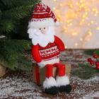 """Soft toy """"Santa Claus in sweater"""" 8*29 cm"""