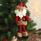 """Soft toy """"Santa Claus in a cage"""" 8*30 cm"""