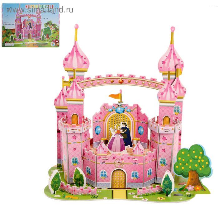 """Конструктор 3D """"Замок принцессы"""""""