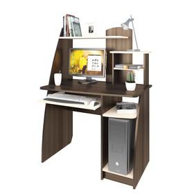 Стол компьютерный Интел-17 970х600х1350 Бодега тёмный/Бодега светлый