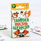 Настольная карточная игра на скорость «Тайная жизнь щенков»