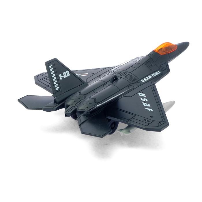 """Самолет """"Истребитель"""", работает от батареек - фото 8367950"""