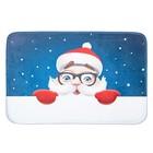 Коврик для ванной «Дедушка Мороз»