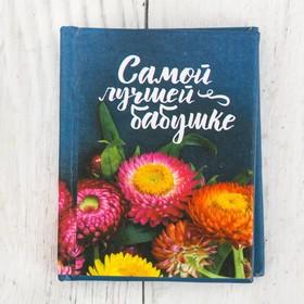 Мини-книжка «Самой лучшей бабушке», 48 страниц Ош
