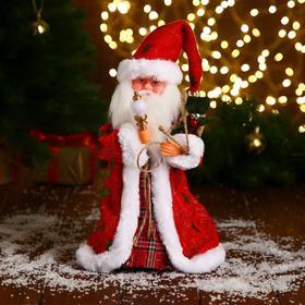 "Дед Мороз ""С посошком и подарками"" 29 см"