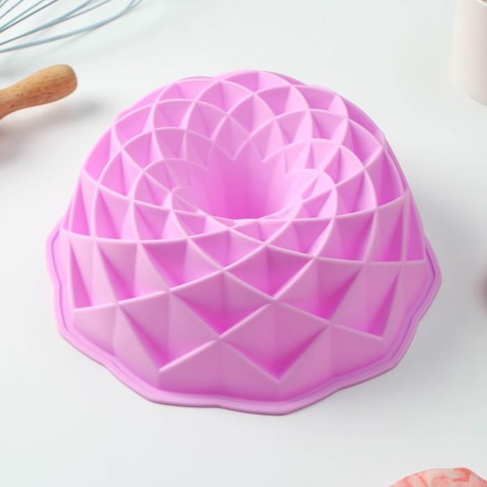 """Baking dish 23 cm """"Diamond shaped"""", MIX colors"""