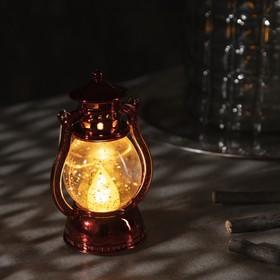 """Фигура световая """"Красный фонарь"""", 12х7,5х5см, от батареек 3xLR44, Т/БЕЛЫЙ"""