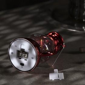 "Фигура световая ""Красный фонарь"", 12х7,5х5см, от батареек 3xLR44, Т/БЕЛЫЙ - фото 1384450"