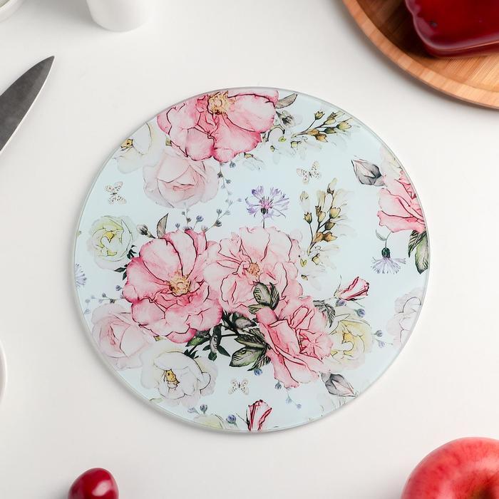 """Cutting Board 20 cm """"Flowers"""""""