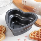 """Форма для выпечки """"Глубокое сердце"""", антипригарное покрытие - фото 308044265"""