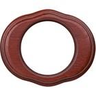 Рамка на 1 пост  WL20-frame-01, цвет итальянский орех