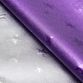 """Film with metallized """"Starfall"""", the color purple, 50 x 70 cm"""
