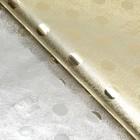 """Плёнка с металлизированная """"Короны"""", цвет золотой, 50 х 70 см"""
