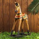 "Souvenir wood ""rocking Horse"" 40х13х43 cm"